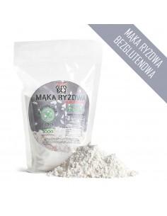 Mąka ryżowa bezglutenowa, masa netto: 500 g